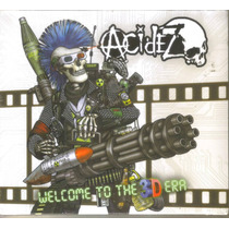 Acidez - Welcome To The...( Punk Hardcore Mexicano ) Cd Rock