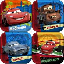 Disney Cars 2 Torta Del Partido / Platos Postre 8ct