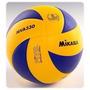 Balon De Voleibol Mikasa Mva 330 Profesional 100% Cuero