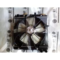 Kit Conjunto Radiador Condensador Ventoinha Honda Fit