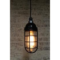Lámpara Colgante Vintage / Diseño Industrial / Edison