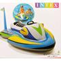 Jetsky Inflable Moto Acuática Niños Flotador Intex 57520