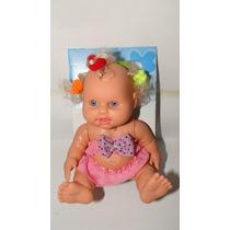 Boneca Bebê Milkinhas Petit Loirinha Com Chuquinhas