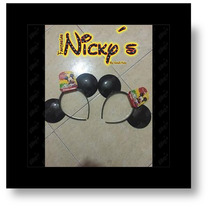 12 Diadema Orejas De Mickey Mouse Unisex Para Tus Fiestas