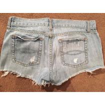 Shorts De Jean Vintage Abercrombie And Fitch Talla 6