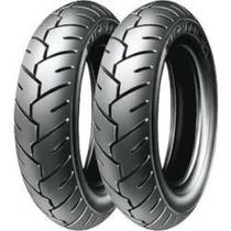 Par Pneu Moto Michelin 350 10 S1 Burgman Sem Câmara