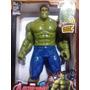 Muñeco Increible Hulk Gigante 30cm Luz Y Sonido! Avengers