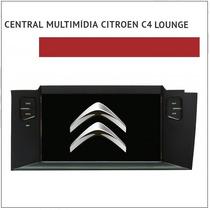 Central Multimidia Citroen C4 Lounge Modelo Básico