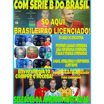 Patch Pes 2016 E 2017 Ps4, Serie B Brasileirao E Bundesliga