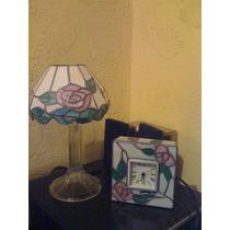 Candelero Lampara Y Reloj Emplomados