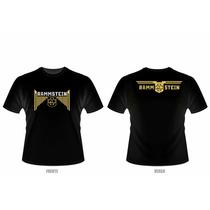 Camiseta Rammstein (preta Ou Branca)
