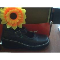 Zapatos Kickers Colegiales Originales Para Niñas Y Adolcente