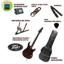 Combo Guitarra Electrica Peavey Predator Exp2 + Accesorios