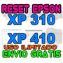 Reset Oficial Almohadilla Epson Xp310 Xp410 100% Garantizado