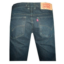Calça Jeans Levis Escura W512 Fechamento Zíper( Jeans Reto )
