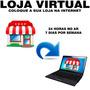 Site E Loja Virtual Com 500 Produtos