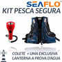 Kit Jaqueta P/pesca-poliester 600d-g E Lanterna Prova D