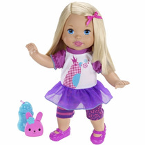 Boneca Little Mommy Fala Comigo Mattel X1030 Pronta Entrega