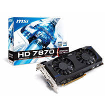 Tarjeta De Video Msi Hd 7870 2gb Gddr5 Pcie 3.0