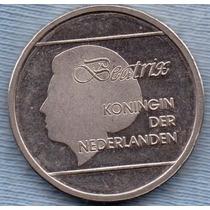 Aruba 1 Florin 1989 * Antillas Holandesas * Beatrix *