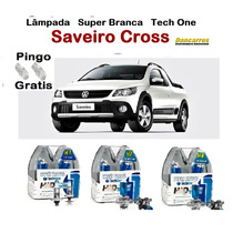 Lâmpada Super Branca Saveiro Cross G5 G6 Tech One