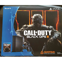 Combo Ps4 500gb 1215a + Call Of Duty Black Ops Iii