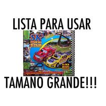 Pista Autos De Carrera Tc Sk Compatible Scx Jiada 1/32 Nueva