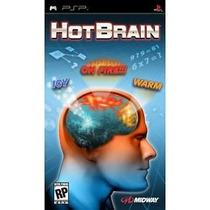 Jogo Psp Hot Brain Original Mídia Fisica Novo Sem Lacre