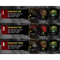 Gears Of War 4 Skins Codigo Gear Pack Rockstar Energy Lata