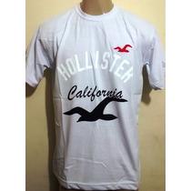 Kit C/10 Camisetas Hollister - Oakley - Quiksilver R$ 119,00
