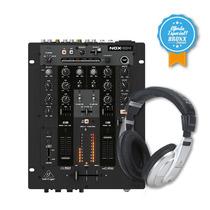 Mixer Dj Behringer Nox404 + Auric.behringer Hpm1000