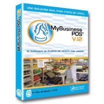 Software Punto De Venta My Business Pos V12 + 100 Folios Dig
