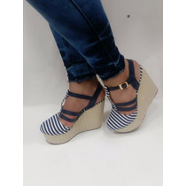 Zapatos De Dama Plataforma Colombianos Talla 39