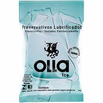 Preservativo Olla Ice C/3 Camisinha