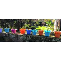 Maceta Plastica Numero 10 Cuadradas Pack 100 Unidades
