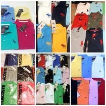 Kit 30 Camisas Polo Masculina Atacado Diversas Marcas!
