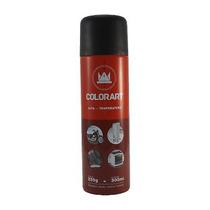 Tinta Spray Preto Fosco Alta Temperatura Motor Escapamento