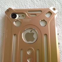 Estuche Iphone 7 Plus Cnc Aluminio Aerospacial Dorado Rosa