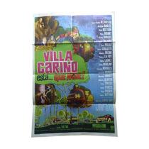 Villa Cariño Está... Que Arde - Afiche De Cine Argentino