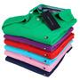 Kit C/3 Camisa Masculina Polo Tommyhelfinger 100% Algodão