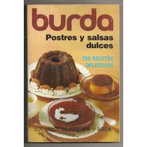 Libro Burda Recetas Postres Y Salsas Dulces 1977