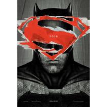 Cuadros -arte Digital- Batman Vs Superman - Dawn Of Justice