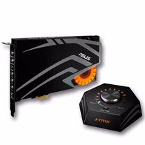 Placa De Sonido Asus Strix Raid Pro 7.1 Pcie Gamer 12 Cuotas
