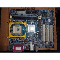 Placa Mãe Gigabyte Socket 478 8vm533m-rz- Não Dá Vídeo