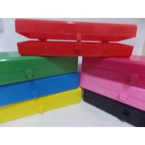 50 Cajitas Plásticas Multiuso - Cartuchera - Souvenir