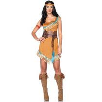 Oferta Disfraz De Princesa Pocahontas Apache Para Damas S/m