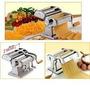Maquina Fabrica Pastas Acero Inoxi.7 Graduaciones 18mm Masa