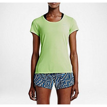 Remera Nike Running Dri Fit Mujer Única - Original Usa
