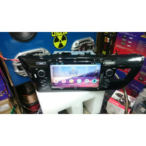 Central Multimidia S600 New Corolla 2015/2017 Android 4.4.4