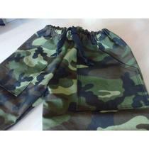 Pantalon Camuflado En I Piccoli San Isidro